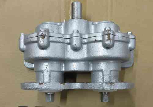 Gear reducer or gear box for ice cream machine