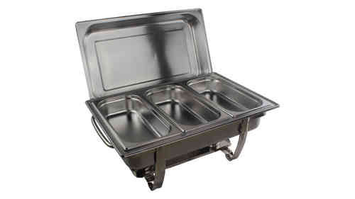 Chafing Dish food warmer 3x 1/3 GN food pan