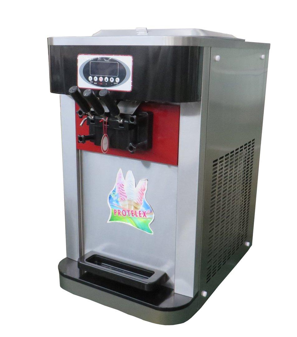 Frozen Ice Cream Machine Part - 40: Soft Serve Frozen Yogurt Ice Cream Machine C723 Table Top