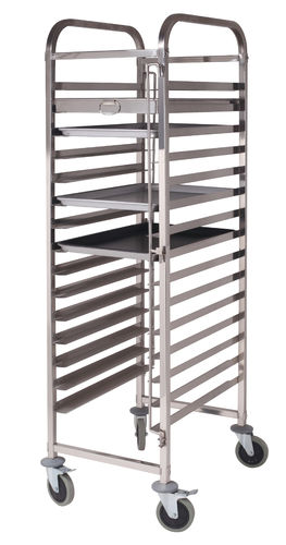15 Layer Stainless Steel tray trolley