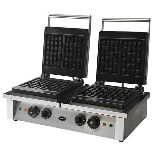waffle maker square 2x2000W