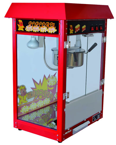 Popcorn machine red