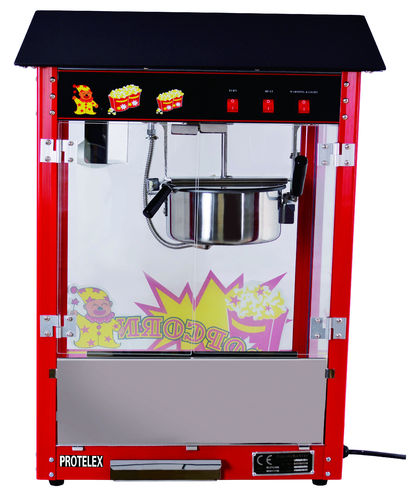 popcorn machine popcornmaker black