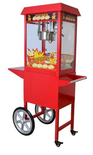 popcron machine with cart